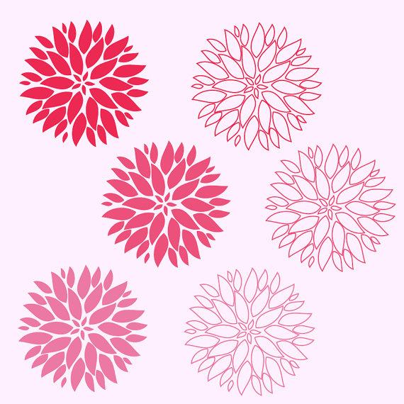 Dahlia clipart Flower flower Free Feline Dahlia