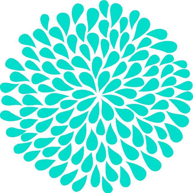 Floral clipart flower burst Art Dahlia Images Clip Clip