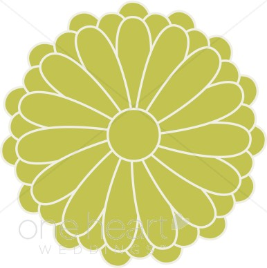 Yellow Flower clipart retro flower Flower  Clipart Retro Accents