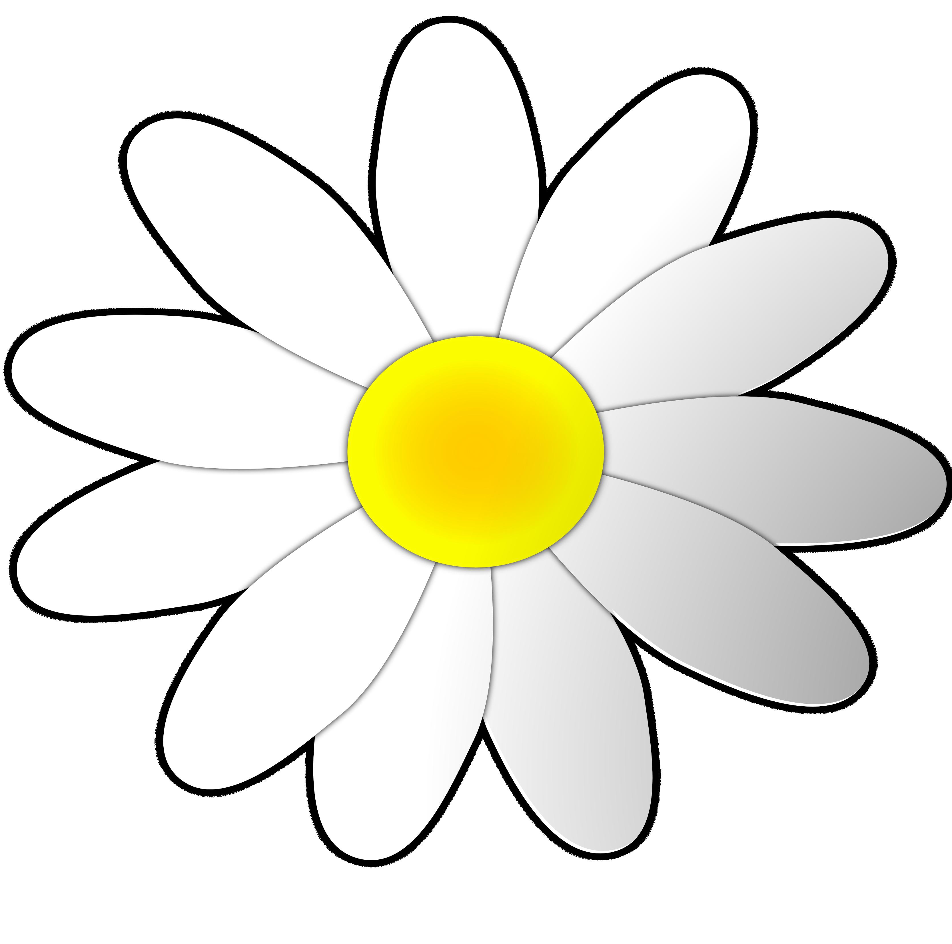 Daisy clipart Clip Clipart Art Free Flowers