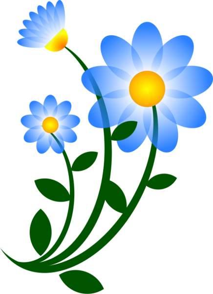 Gallery clipart flowr Clipart free Blue #9108 art