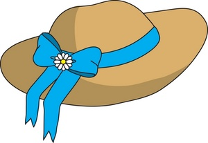 Straw Hat clipart yellow hat Of a a Clipart Hat
