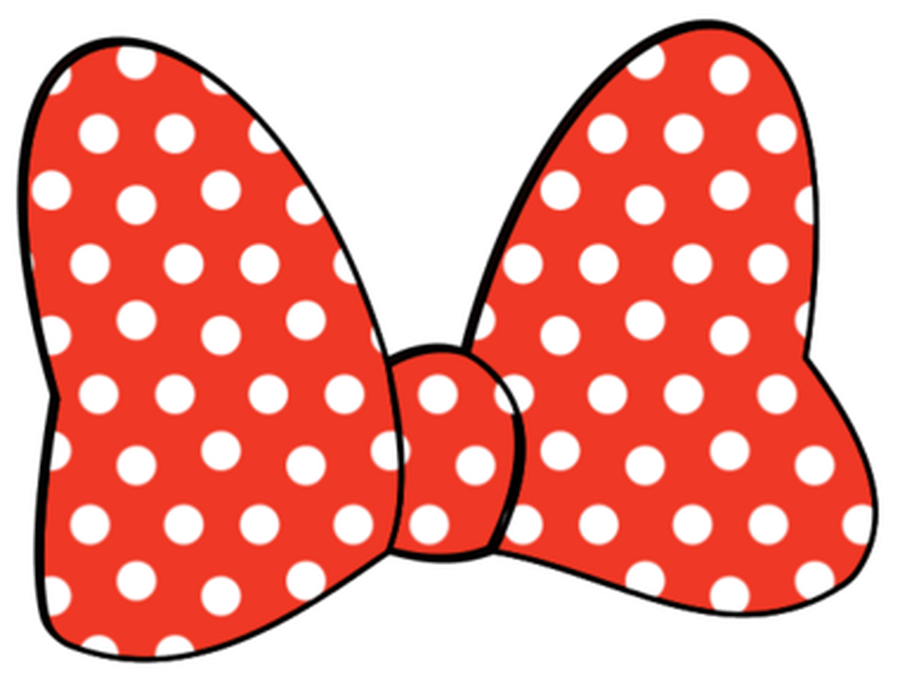Ribbon clipart minnie mouse #3