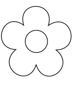 Petal clipart flower coloring Mijn ik free ga Google