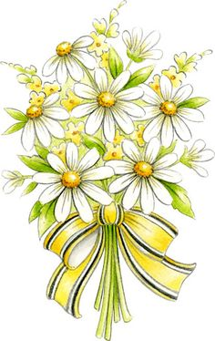 Yellow Flower clipart beautiful flower FLORES Images: Graphic: Bunch TRABAJOS