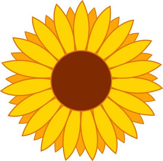 Single clipart yellow flower Sunflower free a clip art