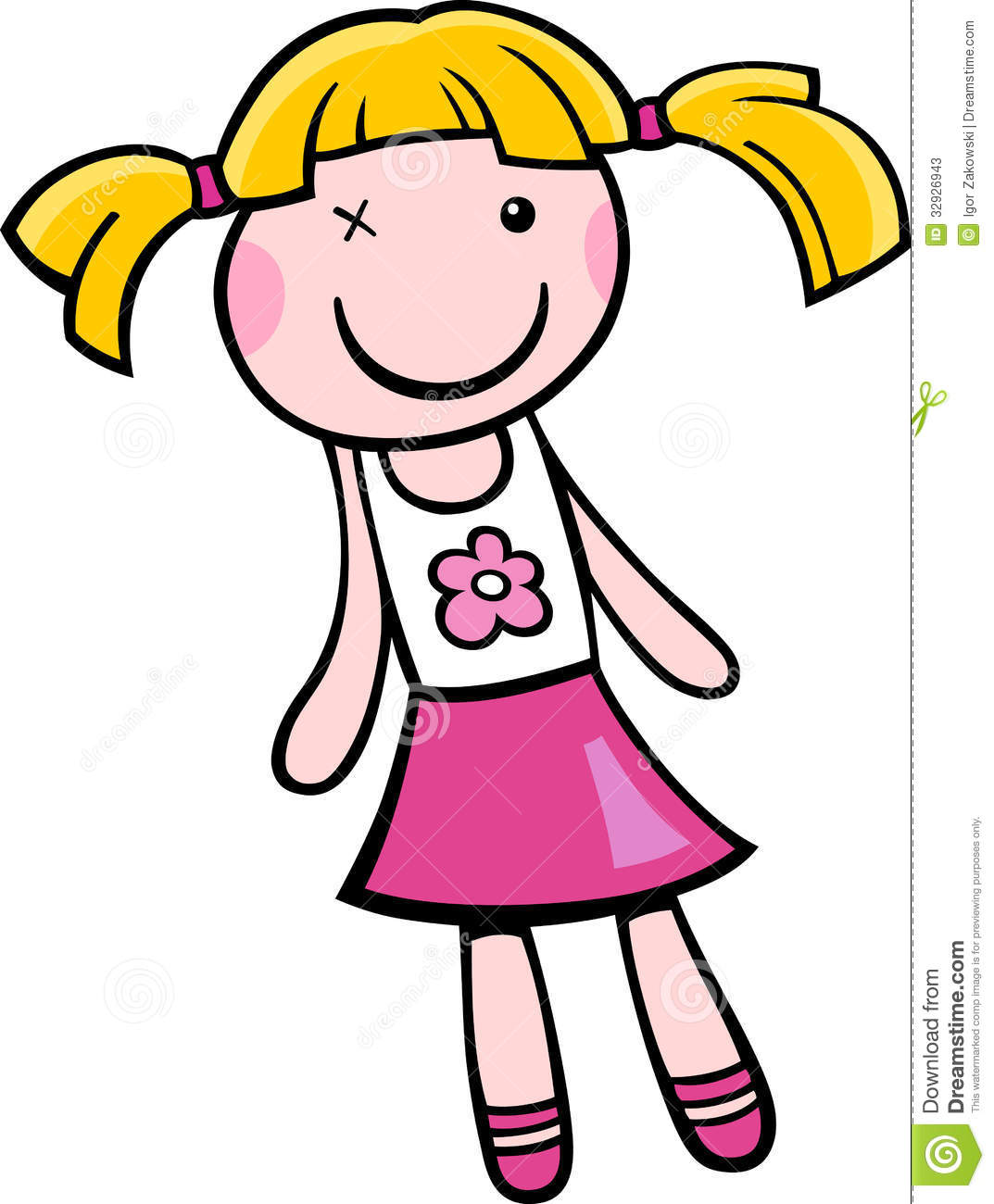 Doll clipart #9