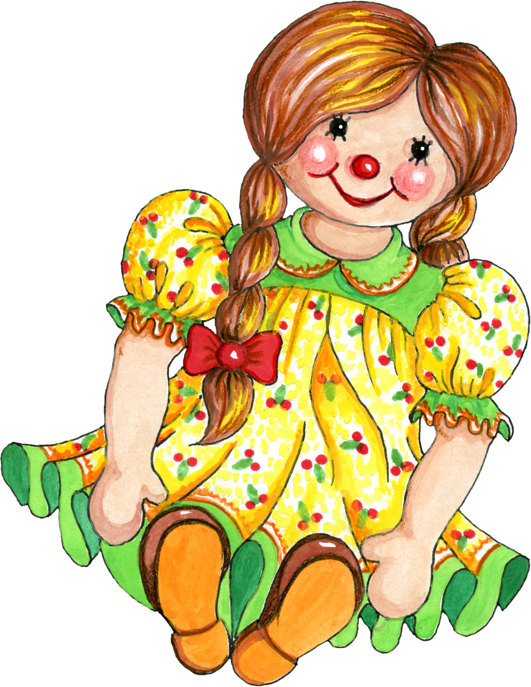 Doll clipart #14