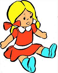 Doll clipart #5