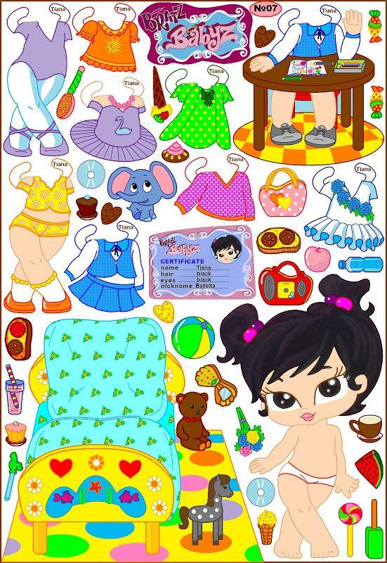 Doll clipart brat Bratz малышки куклы Pinterest Web
