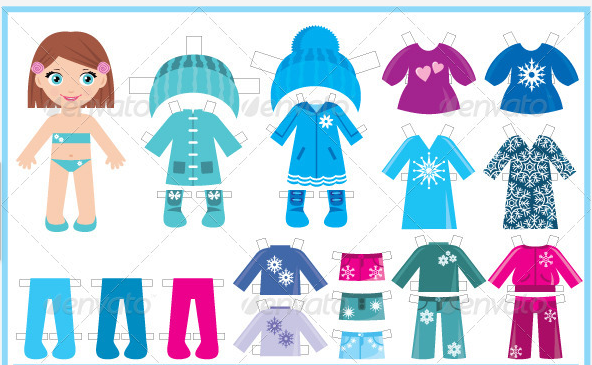 Doll clipart doll clothes Download Clipart Paper Doll Paper