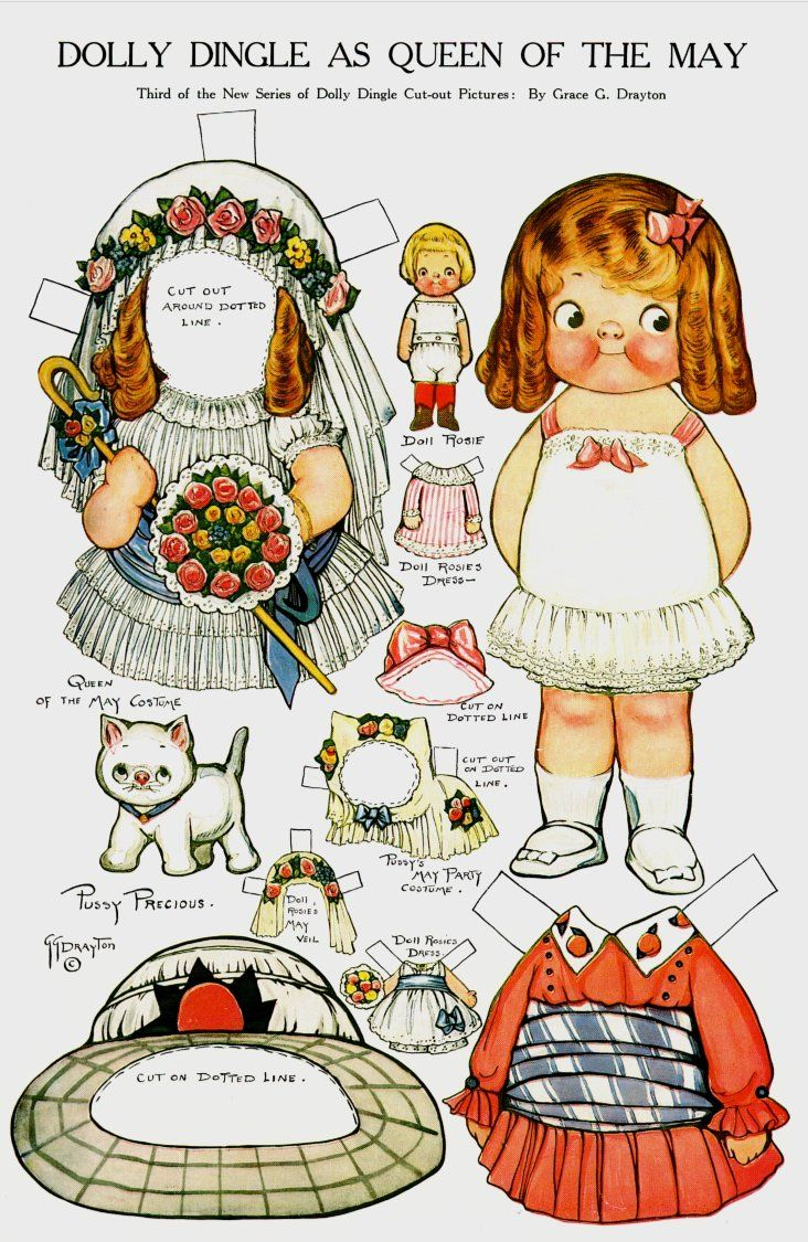 Doll clipart dolly Pinterest Dingle/Campbell on de Dolls