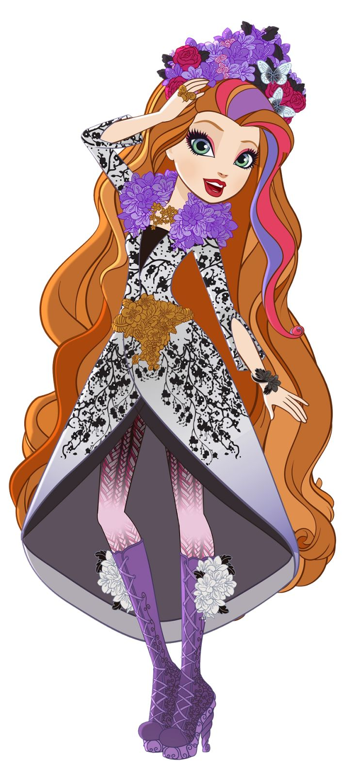 Doll clipart ever after high Royalty Ever Ooak ideas ArtEver