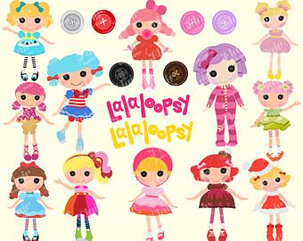 Doll clipart loopsy LALALOOPSY Etsy loopsy Rag Children