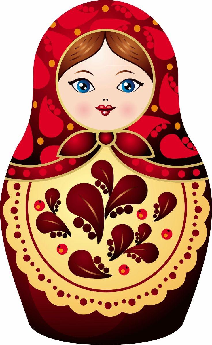 Russia clipart Russian Doll Clipart #1