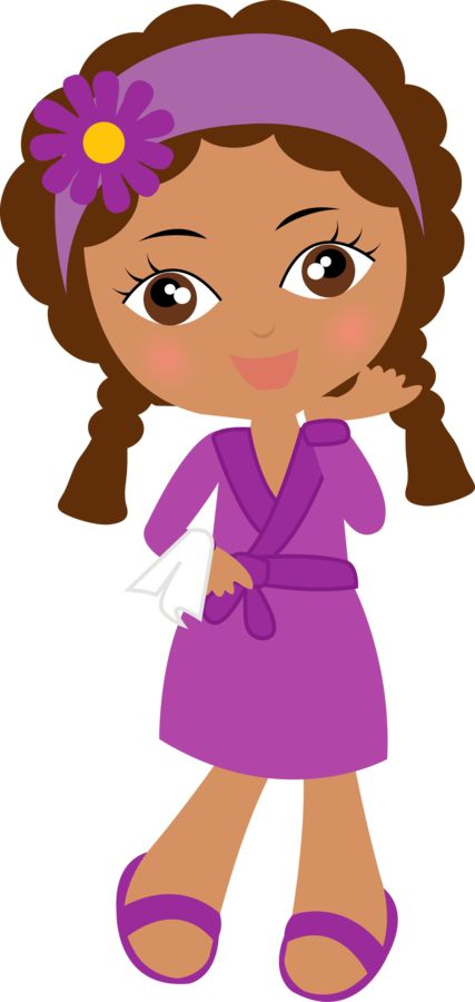 Doll clipart purple Minus 415 on Pinterest images