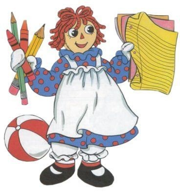 Doll clipart raggedy ann and andy Images Andy Pinterest on best
