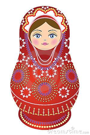 Russia clipart Russian Doll Clipart #9