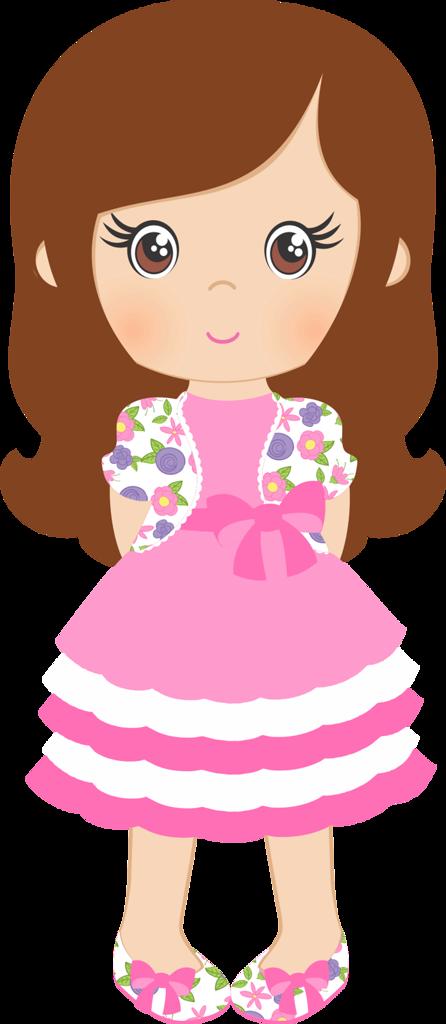 Doll clipart shabby Pinterest *✿*Spring Chic Muñecas CH