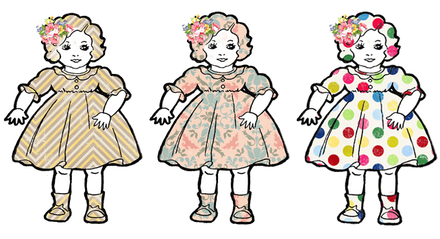 Doll clipart vintage doll Dolls Adorable free Dolls Clip