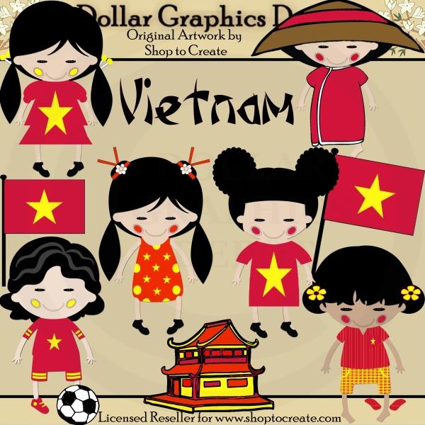 Vietnam clipart Clip Dolls Dolls Depot Art