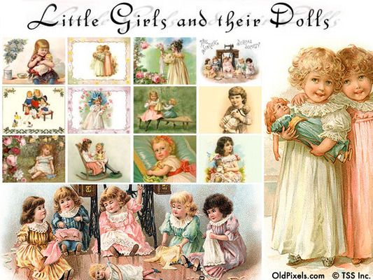 Doll clipart vintage doll Antique Free Doll Clipart Doll