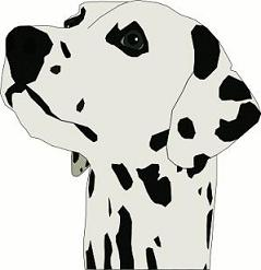 Dalmatian clipart Clipart Dalmatian Free dalmatian
