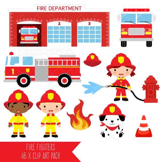 Firefighter clipart fire department / Fire Firefighter Fire Clipart
