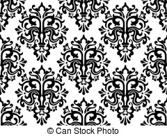 Damask clipart Damask royalty Pattern  for