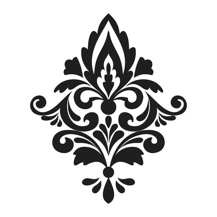 Damask clipart On  Damask Clipart Clip