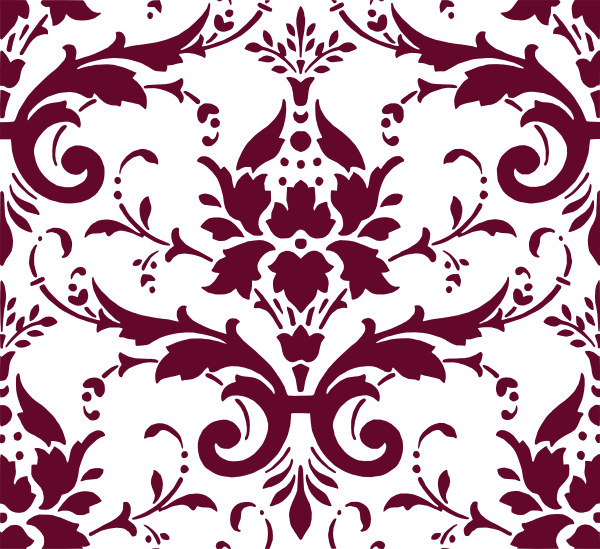 Damask clipart accent Vector Damask art clip royalty