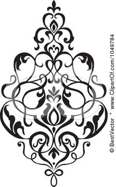 Damask clipart accent Of is  Art Elegant