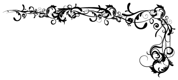 Damask clipart corner Download Corner image this Damask