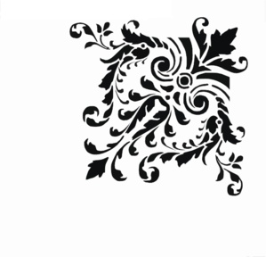 Damask clipart corner Fancy Clip clip Art scroll