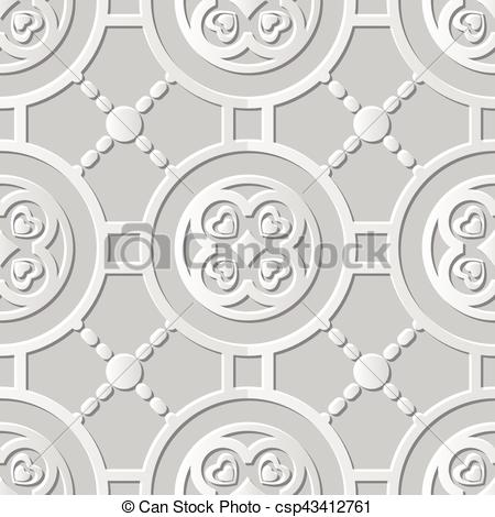 Damask clipart cross Cross Vector of  Round
