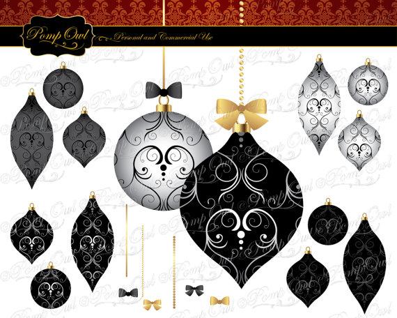 Damask clipart fancy On ornaments images PompOwl Damask