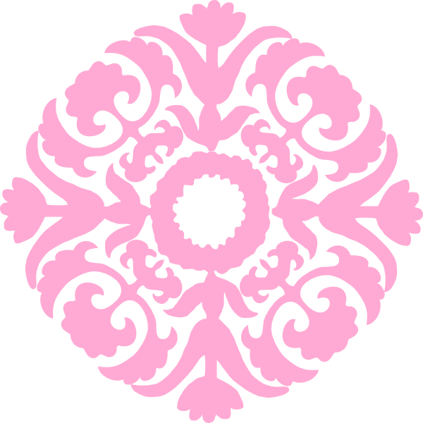 Damask clipart flourishes At clip this Art