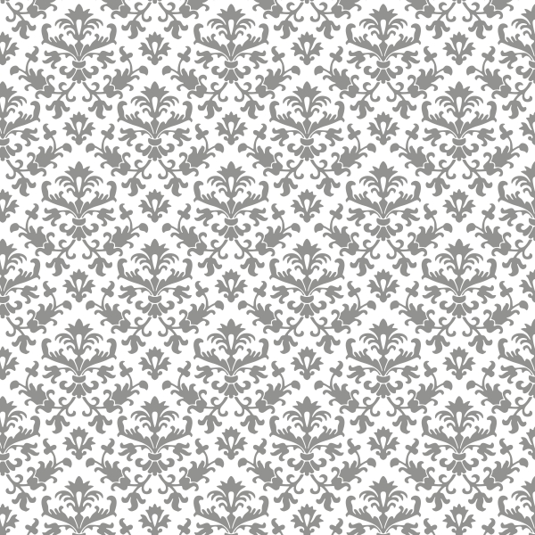 Damask clipart gray Damask and Grey/White and