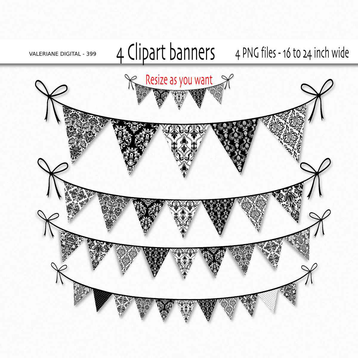 Damask clipart gray This Damask for digital invitations