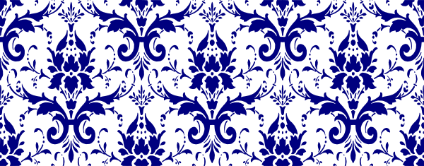 Damask clipart navy As: Download Clker at this