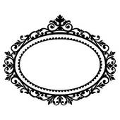 Damask clipart oval Free Clipart Clipart Vertical Oval