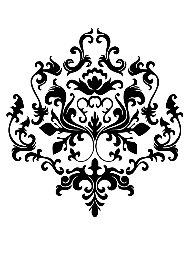 Damask clipart single  para Find Damask and