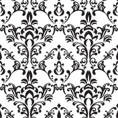Damask clipart sophisticated Seamless patterns Simple White free