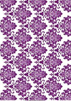 Damask clipart sophisticated Purple purple Damask Beautiful Damasks
