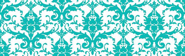 Damask clipart teal Tiffany com art image Download