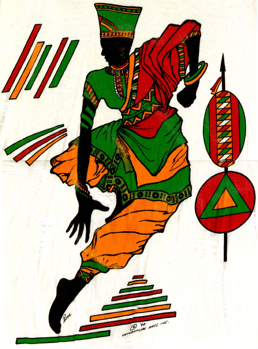 Africa clipart african dancing Free African Dancer Clip Africa