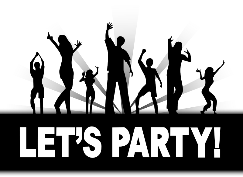 Party clipart celebration Lets of Parties Graphics Free