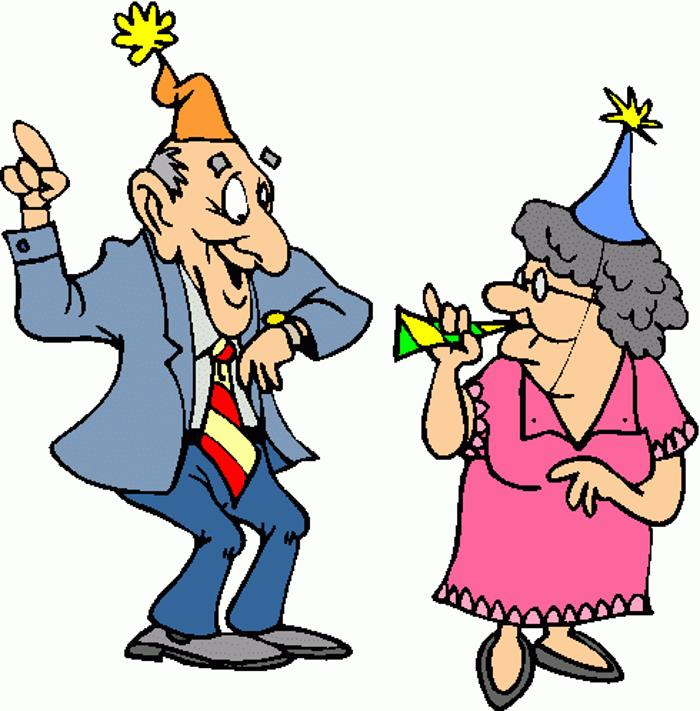 Celebration clipart work party Clipart birthday party Retirement party