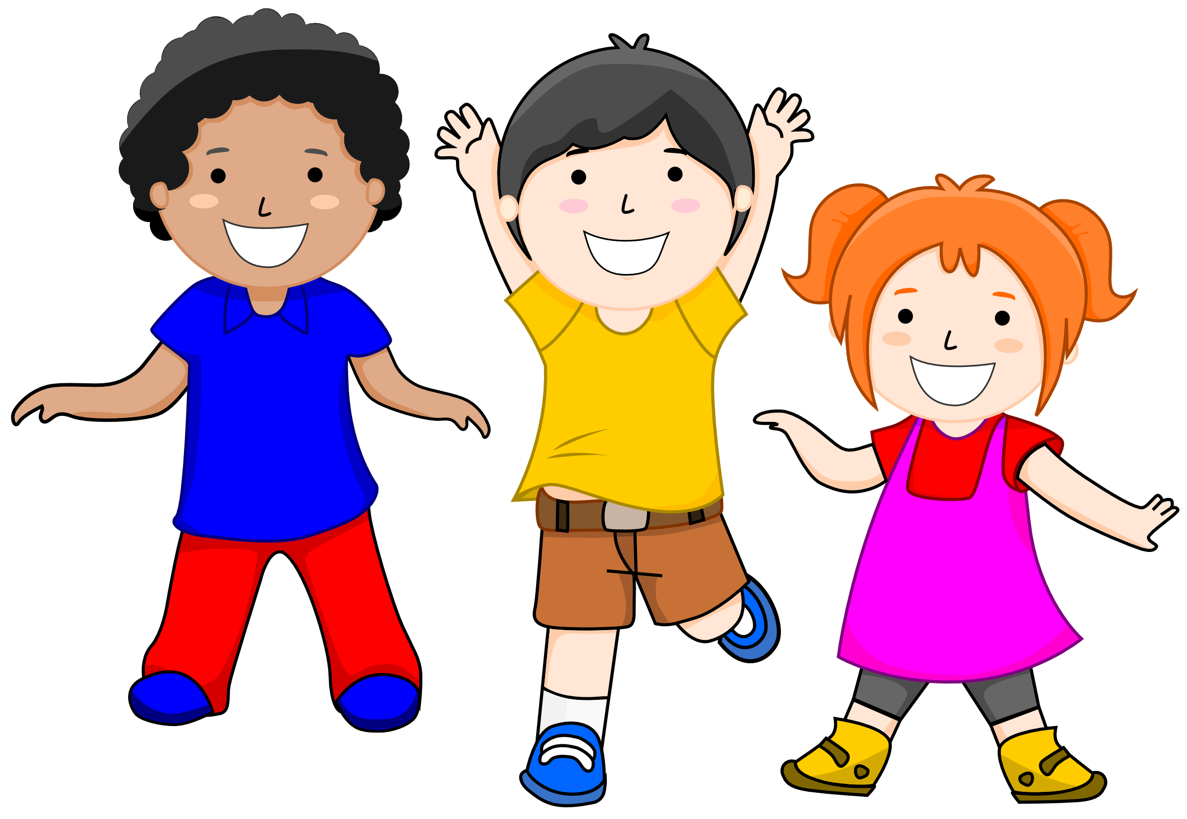 Summer clipart happy person #7
