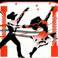 Cuba clipart dancesport Jpg  ClipArtCountryDancersRedBlackLine